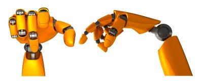 Robot_ARM Imagens de Stock