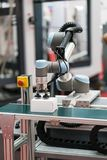 Robot arm for automatic production line Royalty Free Stock Image