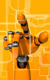 Robot arm stock photos