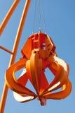 Robot arm of crane Stock Image