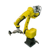 robot arm for industry royalty free stock photos