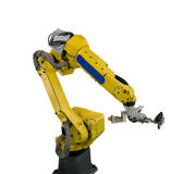 Robot arm for industry stock photos