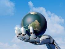 The  robot arm. Stock Photos