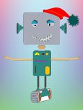 Robot asking for a hug Royalty Free Stock Photos