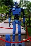 Robot au festival de la robotique images stock