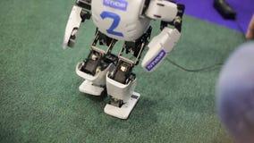 Robot bawić się football_6 zdjęcie wideo