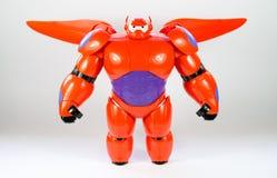 Robot BAYMAX från den STORA Disney för HJÄLTE 6 filmen Royaltyfri Fotografi