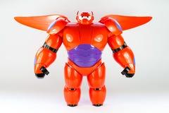Robot BAYMAX HÉROS 6 de film de Disney du GRAND Photographie stock libre de droits