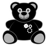 Robot bear Royalty Free Stock Photography