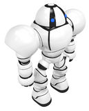 Robot Behemoth Top View Standing Strong and Tall Royalty Free Stock Photography