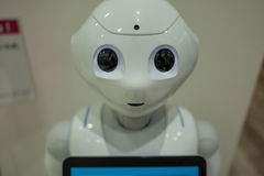 Robot. A robot in Beppu, Japan Stock Image