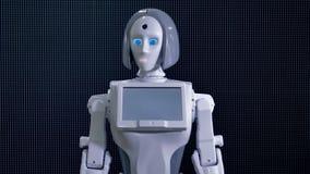 Robot bionique demandant à venir plus étroitement