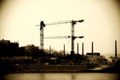 Robot budowlany Portowy Mainz Fotografia Stock