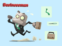 Robot businessman Royalty Free Stock Photo