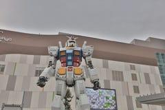 Robot célèbre de concession d'anime, Gundam image stock