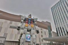 Robot célèbre de concession d'anime, Gundam photographie stock