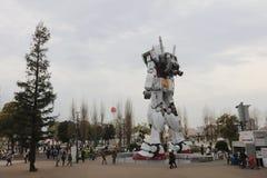 Robot célèbre de concession d'anime, Gundam photo libre de droits