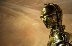 Robot C-3PO de Star Wars Fotografía de archivo libre de regalías