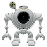 Robot camera Royalty Free Stock Images