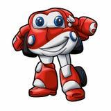 Robot car cartoon - cute robot - baby car royalty free illustration