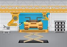 Robot car Stock Images