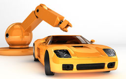 Robot Car technology Stock Photos
