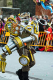 Robot in Carnival Royalty Free Stock Photography