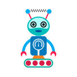 Robot cartoon character Stock Photos