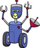 Robot cartoon character Stock Photo