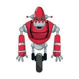 Robot cartoon icon Royalty Free Stock Photos