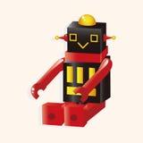 Robot cartoon theme elements vector,eps Royalty Free Stock Image