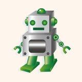 Robot cartoon theme elements vector,eps Royalty Free Stock Photos
