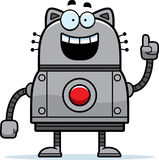 Robot Cat Idea Stock Photo