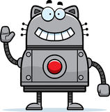 Robot Cat Waving Stock Image