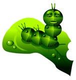 Robot caterpillar Stock Photography