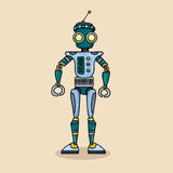 Robot character Royalty Free Stock Photography