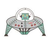 Robot character Royalty Free Stock Photos