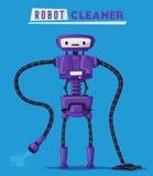 Robot character. Technology, future. Cartoon vector illustration Royalty Free Stock Photos