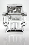 Robot Coin Bank Royalty Free Stock Images