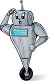 Robot confuso illustrazione vettoriale