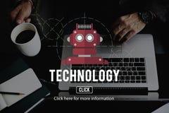 Robot Cyborg AI Robotics Android Concept Royalty Free Stock Photography
