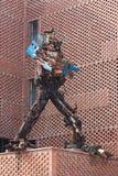 Robot d'acciaio Fotografia Stock Libera da Diritti