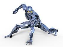 Robot. 3D CG rendering of a robot Stock Photos