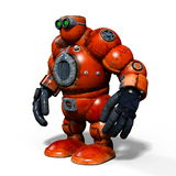 Robot. 3D CG rendering of a robot Royalty Free Stock Images