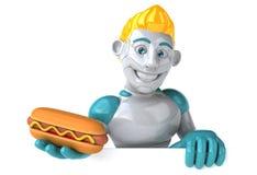 Robot - 3D Illustratie royalty-vrije illustratie