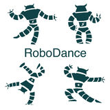 Robot dancer Royalty Free Stock Image
