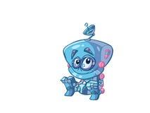 Robot de bébé illustration libre de droits