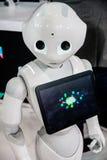 Robot de 2016 CES Imagen de archivo libre de regalías