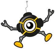 Robot de dessin animé Photo libre de droits