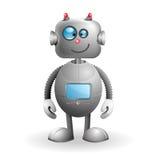 Robot de dessin animé Photos stock